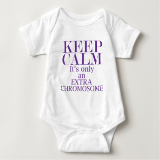 Only an Extra Chromosome Baby Bodysuit