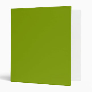 Only apple green rustic solid color OSCB43 Binders