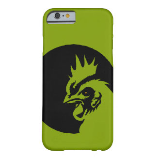 Only Apple green solid color Head Rooster Barely There iPhone 6 Case