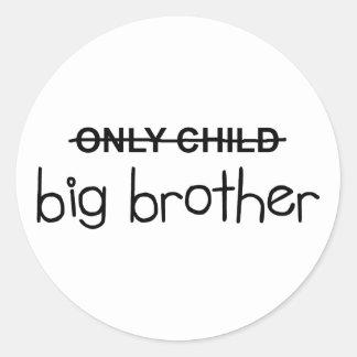 Only Big Brother Round Sticker