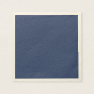 Only blue steel cool solid color OSCB36 Disposable Napkins