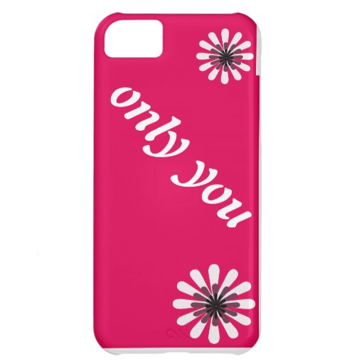 only iPhone 5C case