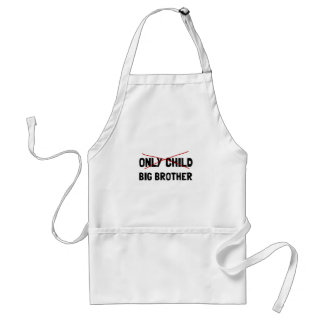 Only Child Big Brother Standard Apron