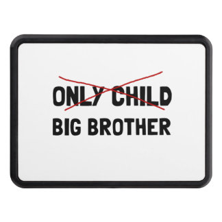 Only Child Big Brother Trailer Hitch Cover