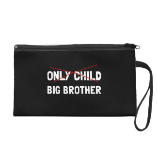 Only Child Big Brother Wristlet