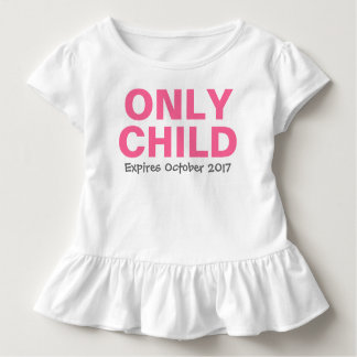 Only Child Big Sister | Custom Tee Shirt Design