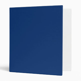Only cobalt cool blue solid color background 3 ring binders