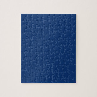 Only cobalt cool blue solid color background jigsaw puzzle