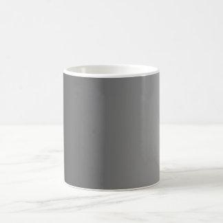 ONLY COLOR gradients - black grey Coffee Mug