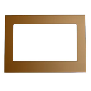 ONLY COLOR gradients - brown Magnetic Picture Frame