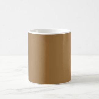ONLY COLOR gradients - brown Coffee Mug
