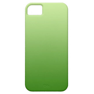 ONLY COLOR gradients - green iPhone 5 Cases