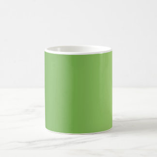 ONLY COLOR gradients - green Mugs