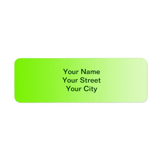 ONLY COLOR gradients - neon green