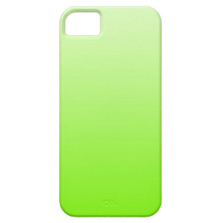ONLY COLOR gradients - neon green iPhone 5 Case