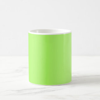 ONLY COLOR gradients - neon green Coffee Mug