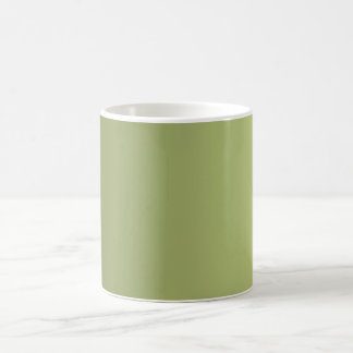 ONLY COLOR gradients - olive green Coffee Mug