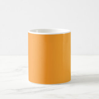 ONLY COLOR gradients - orange Coffee Mugs