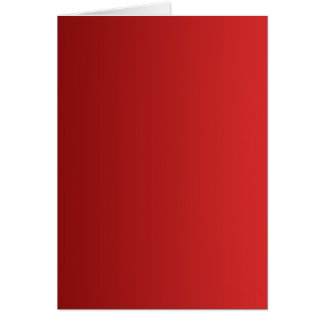 ONLY COLOR gradients - red Card