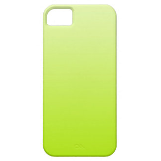 ONLY COLOR gradients - spring green iPhone 5 Case