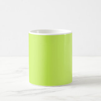 ONLY COLOR gradients - spring green Coffee Mug