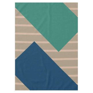 ONLY COLOR pattern ocean green blue + your backgr. Tablecloth