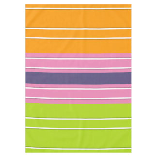 ONLY COLOR pattern orange green + your backgr. Tablecloth