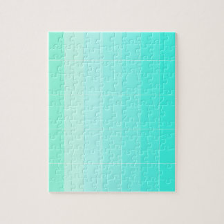 Only Color Sea Green Ombre Jigsaw Puzzle