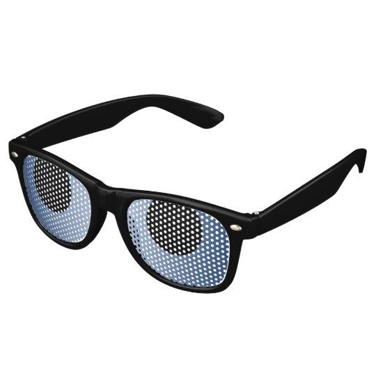 Only Colour Background - dark blue gradient Sunglasses
