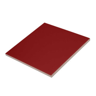 Only cool red wine maroon solid color OSCB04 Tile