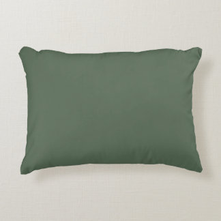 Only cypress green gorgeous solid color OSCB23 Accent Pillow