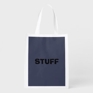 Only dark blue gray livid solid color background market totes