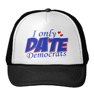 Only date Democrats Mesh Hats