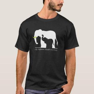 Only Elephants Should Wear Ivory T-Shirt