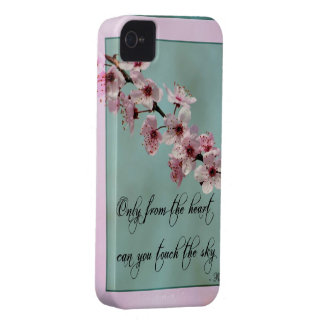 Only From the Heart Floral iPhone 4 Case
