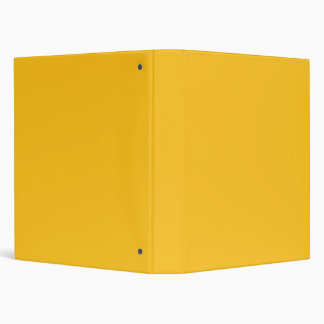 Only gold stylish solid color background binder