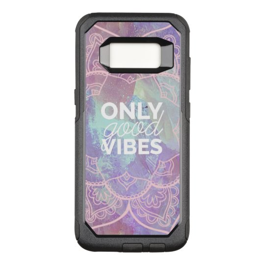Only Good Vibes OtterBox Commuter Samsung Galaxy S8 Case