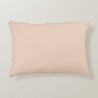 Only gorgeous dusty rose solid OSCB07 background Accent Pillow