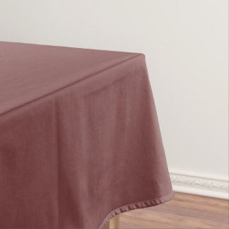 Only gorgeous warm burgundy marsala solid OSCB21 Tablecloth