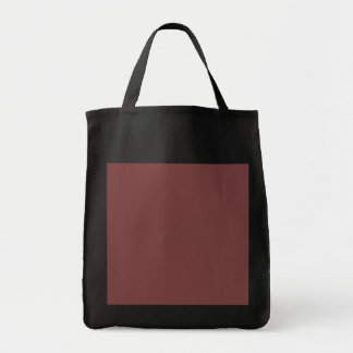Only gorgeous warm burgundy marsala solid OSCB21 Tote Bag