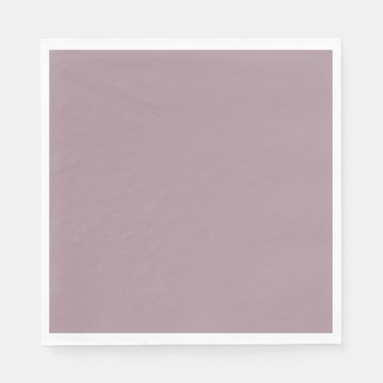 Only Lavender dusty pretty solid OSCB08 background Disposable Napkins