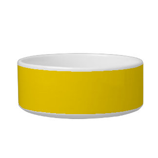 Only lemon yellow pretty solid color OSCB09 Bowl