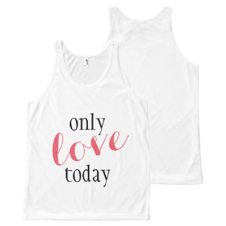 Only Love Today Yoga - Workout Tank Top