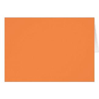 Only melon orange pretty solid OSCB46 background Card
