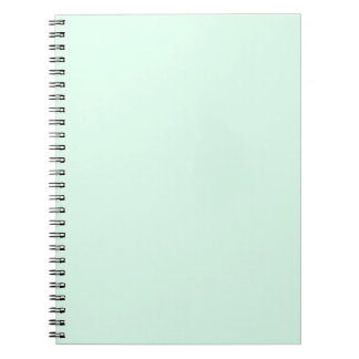 Only mint green pretty pastel solid color OSCB12 Notebook