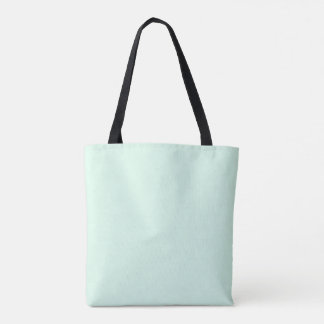 Only mint green pretty pastel solid color OSCB12 Tote Bag