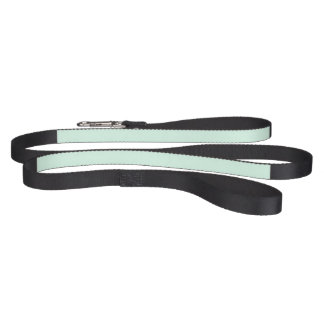 Only mint green pretty pastel solid color pet lead