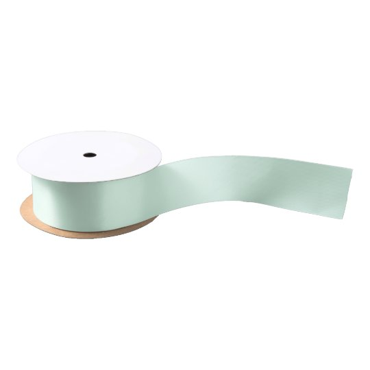 Only mint green pretty pastel solid colour OSCB12 Satin Ribbon