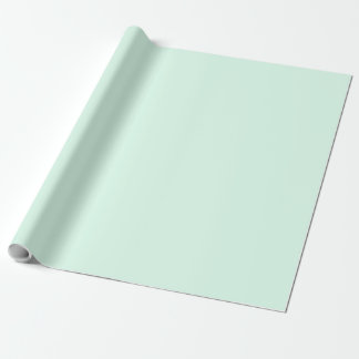 Only mint green pretty solid color OSCB12 Wrapping Paper