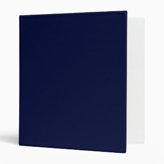 Only navy blue gorgeous solid color OSCB13 Binder